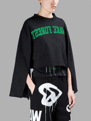 OFF-WHITE C/O VIRGIL ABLOH Sweaters - Shop for women's Sweater - BLACK Sweater