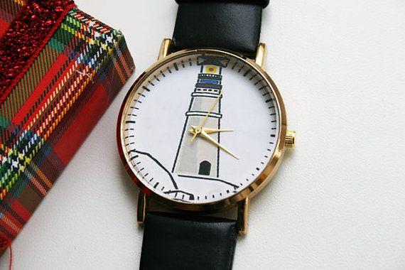 Leather Watch women watches Ladies Watch Birthday by SovietCrimea