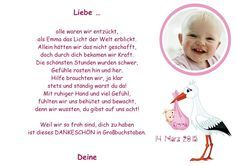 Danke an die Hebamme Geburt Baby A4  von Aus Liebe wird Papier auf DaWanda.com