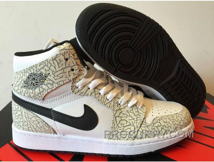 Authentic 2016 Air Jordan 1 High Elephant Print for Sale