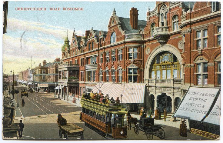 bournemouth victorian arcade paintings - Google Search