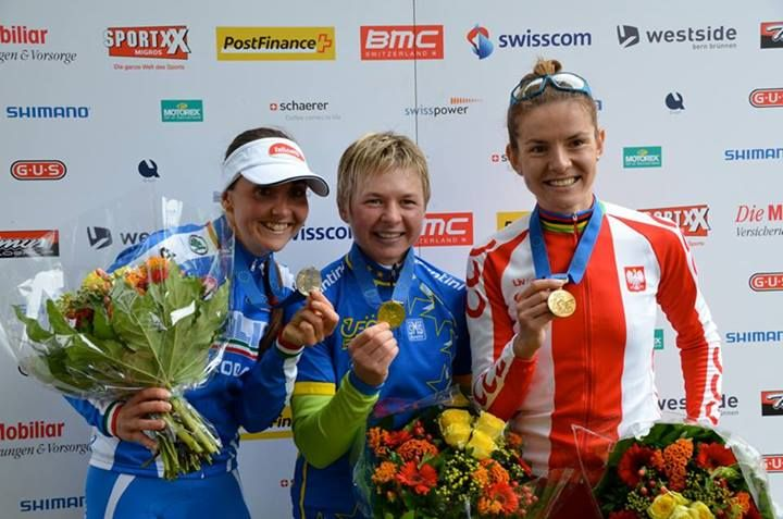 3rd place on Mountainbike European Championships 2013 in Berne Switzerland