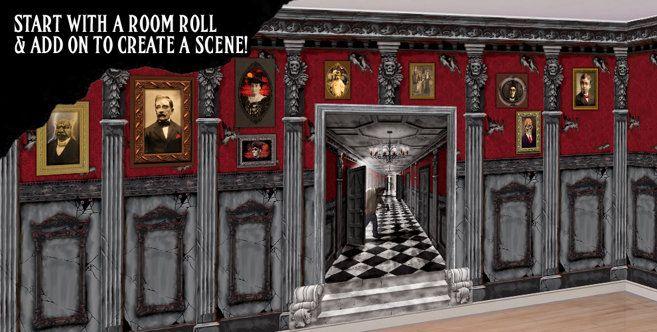 Halloween Scene Setters - Room Rolls for Halloween Scenes - Party City