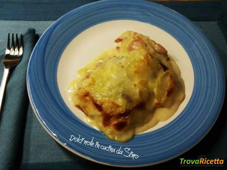 Parmigiana cremosa di patate e speck  #ricette #food #recipes