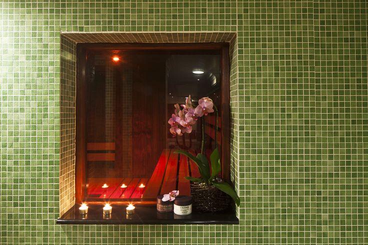 Sauna at Grange City Hotel #AjalaSpa #Sauna
