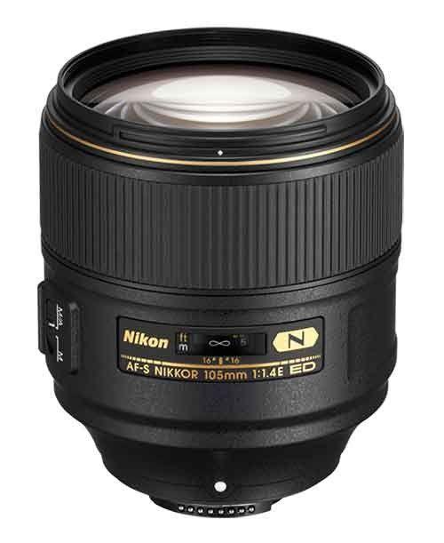 Nikon 105mm f/1.4E ED Lens