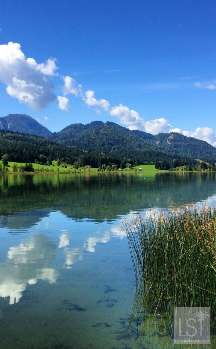 One of the best places to go in the world for the views - Weisensee, in Carinthia, Austria. See more about it and discover our other six best places to go.