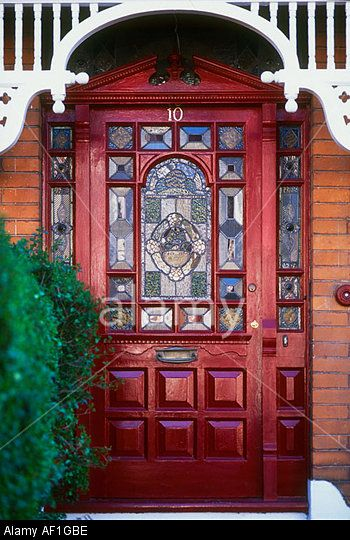 stained glass exterior doors - Google Search