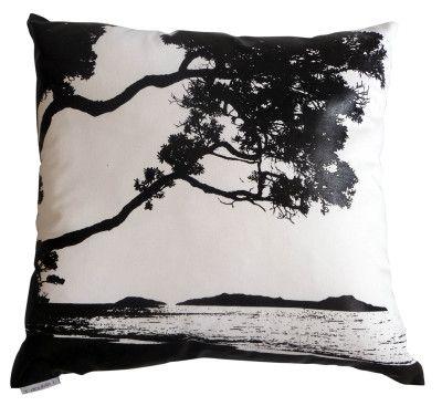 Cushion Beach White Black http://www.designerdecor.co.nz/cushions/
