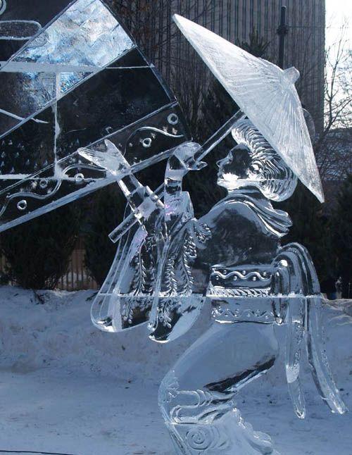 Geisha - Ice Sculpture