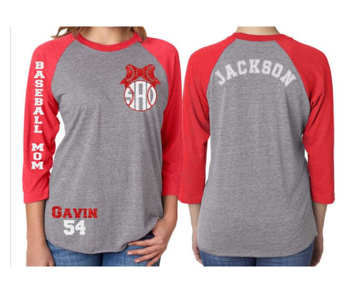 glitter baseball mom monogram raglan shirt baseball mom monogram shirt - Baseball Shirt Design Ideas