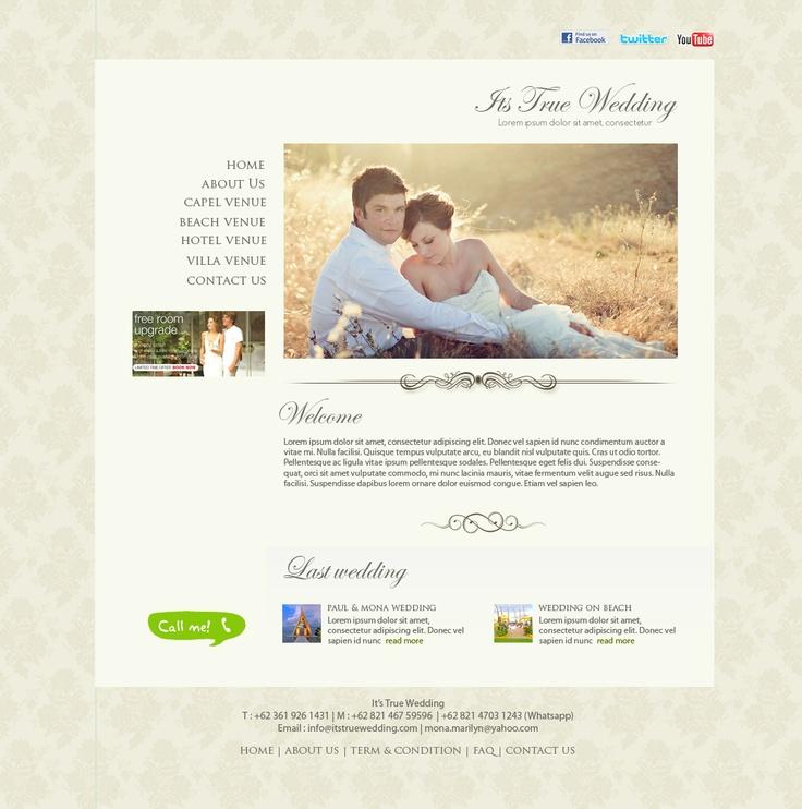 Its True Wedding  web design, web development, wordpress