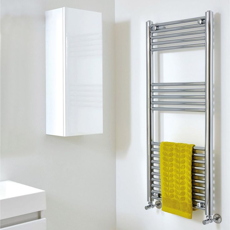 This gorgeous towel rail from Phoenix features a robust ...