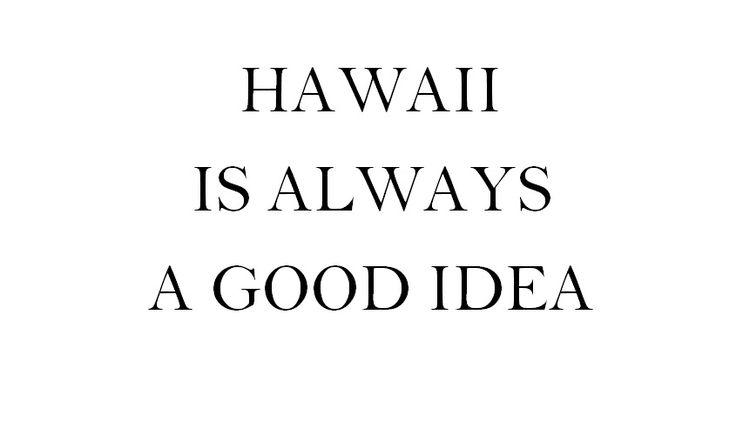 hawaii! Latest Pinspirations | Goldfish Kiss