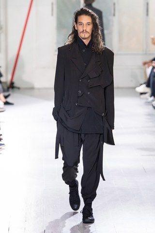 Yohji Yamamoto Homme Printemps-Été 2020 – Défilés