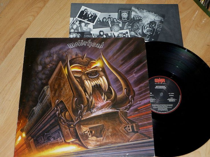 MOTORHEAD - Orgasmatron - UK VINYL LP with LYRIC INSERT - GWR