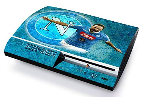 NAPOLI HIGUAIN ULTRAS CALCIO Skin Cover PS3 FAT HD limited edition DECAL COVER ADESIVA STICKER Playstation 3