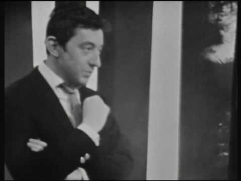 """Couleur Café"" by SERGE GAINSBOURG from TV program ""Discorama/ORTF"" (january 31, 1965)..."