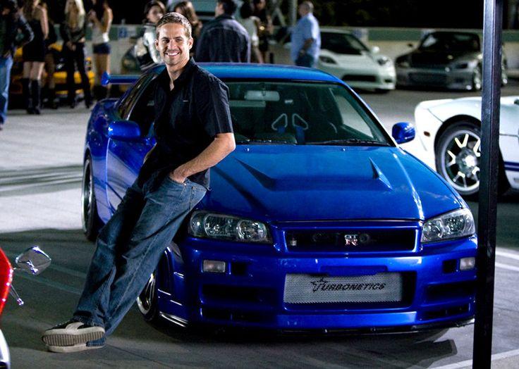 Nissan GTR de Brian O'Conner dans Fast And Furious4