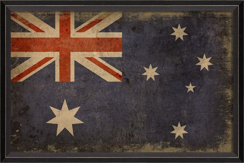 Prints: BC Australian Flag