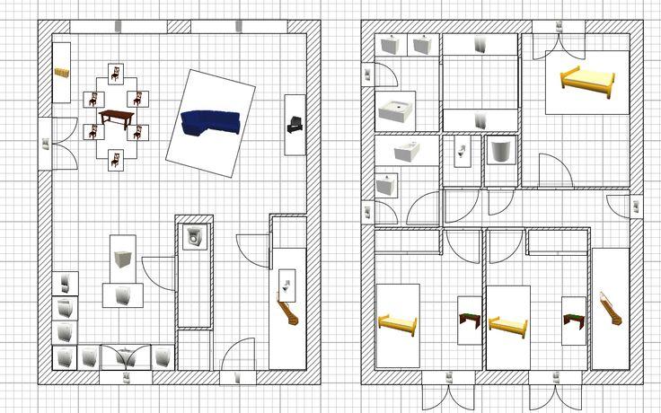 Plan Maison Cubique Gratuit Maison Pinterest - plan maison cubique gratuit
