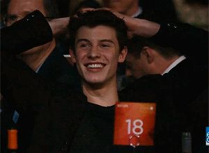 Imagine: youre shawns gf. You are a comedian, so youre doing your thing on stage (shawns in the audience) when a joke pops up about him.