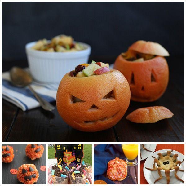 Recetas de Halloween, ¡una cena de miedo! Divertidas recetas de Halloween para niños: postre con gusanos, pastel de pollo en forma de pulpo, albóndigas calabaza...