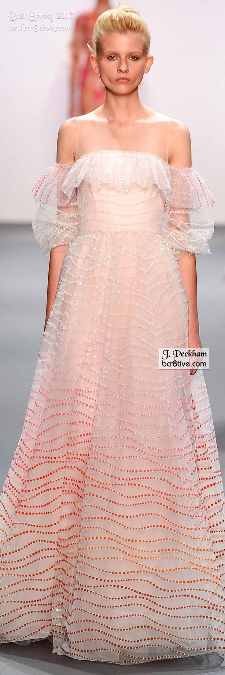 33 best Gowns Pink 2 images on Pinterest   High fashion, Wedding ...