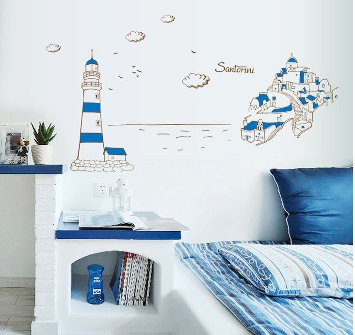 Best Stickers Images On Pinterest Wall Stickers Lighthouses - Custom vinyl wall decals cheap how to remove