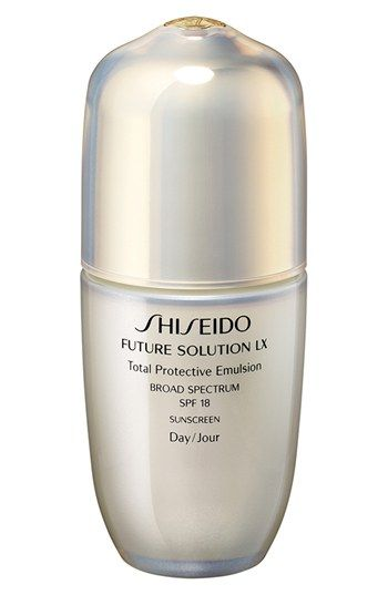 Women's Shiseido 'Future Solution LX' Total Protective Emulsion SPF 18