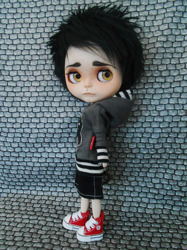 Blythe custom boy 2014 June