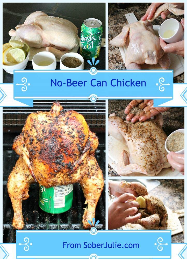 No Beer Can Chicken Easy Chicken Recipe @SoberJulie #recipe #Chicken #ChickenRecipe