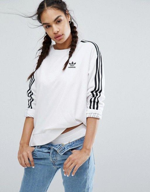 sweat short femme adidas blanc