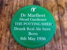Quirky Personalised Garden Sign