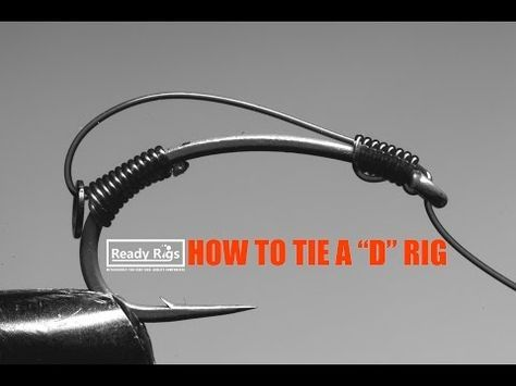 How to tie a D rig - Demonstration by Ready Rigs - YouTube
