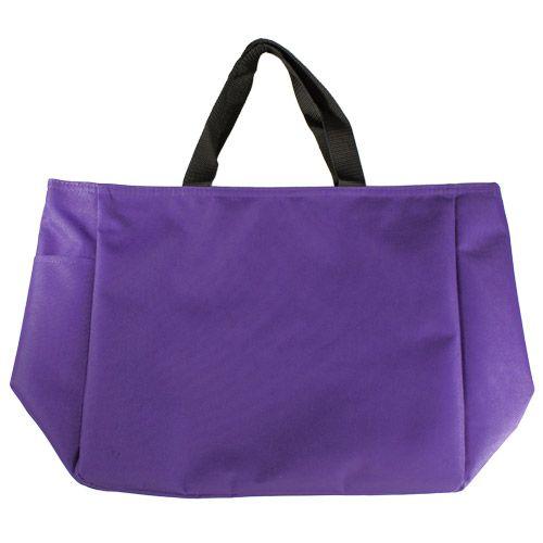 Reusable Purple Tote Bag