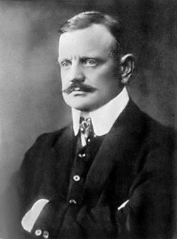 Jean Sibelius, the most famous Finnish composer.