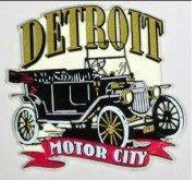Generic Detroit Penrod Detroit Car Magnet