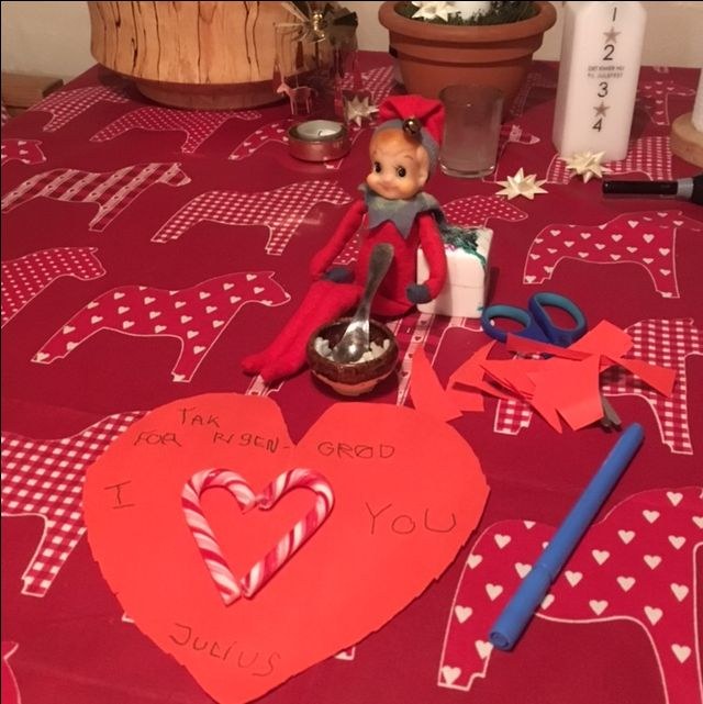 9. Dec. Julius har skrevet en lille kærlighedserklæring.