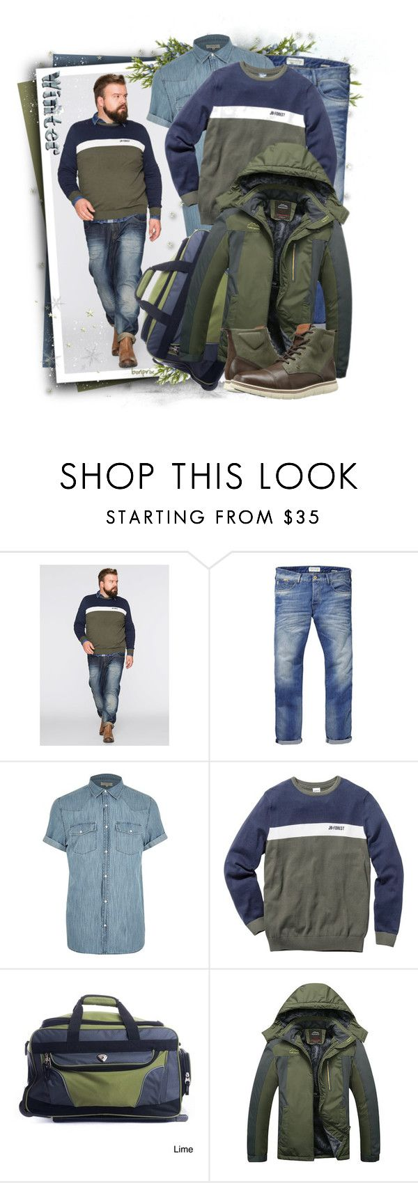 """""""Tommy Hilfiger (Brown) Men's Shoes"""" by tasha1973 ❤ liked on Polyvore featuring Scotch & Soda, River Island, CalPak, Tommy Hilfiger, men's fashion and menswear"""