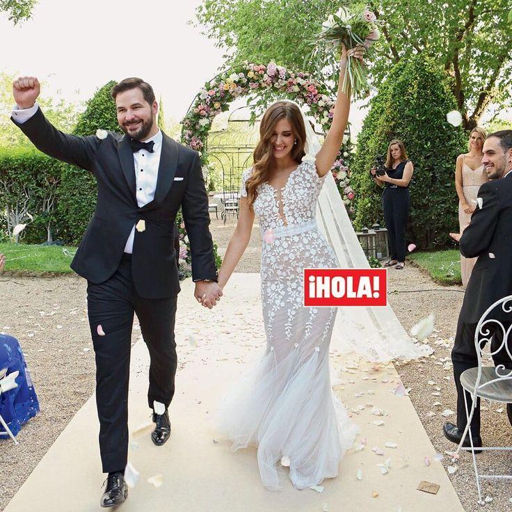 La boda de la modelo española @ClaraAlonsoNet con el empresario neoyorquino Robert Serafini, después de dos años de noviazgo, fue una celebración llena de belleza y 'glamour'. ¡No te pierdas las imágenes exclusivas que publica ¡HOLA! esta semana! (📷 @_javialonso_) #claraalonso #robertserafini #boda #novia #revistahola #hola