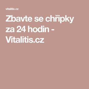 Zbavte se chřipky za 24 hodin - Vitalitis.cz