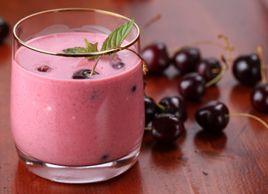 Smoothie à la cerise | Recettes | Mon assiette | Plaisirs Santé