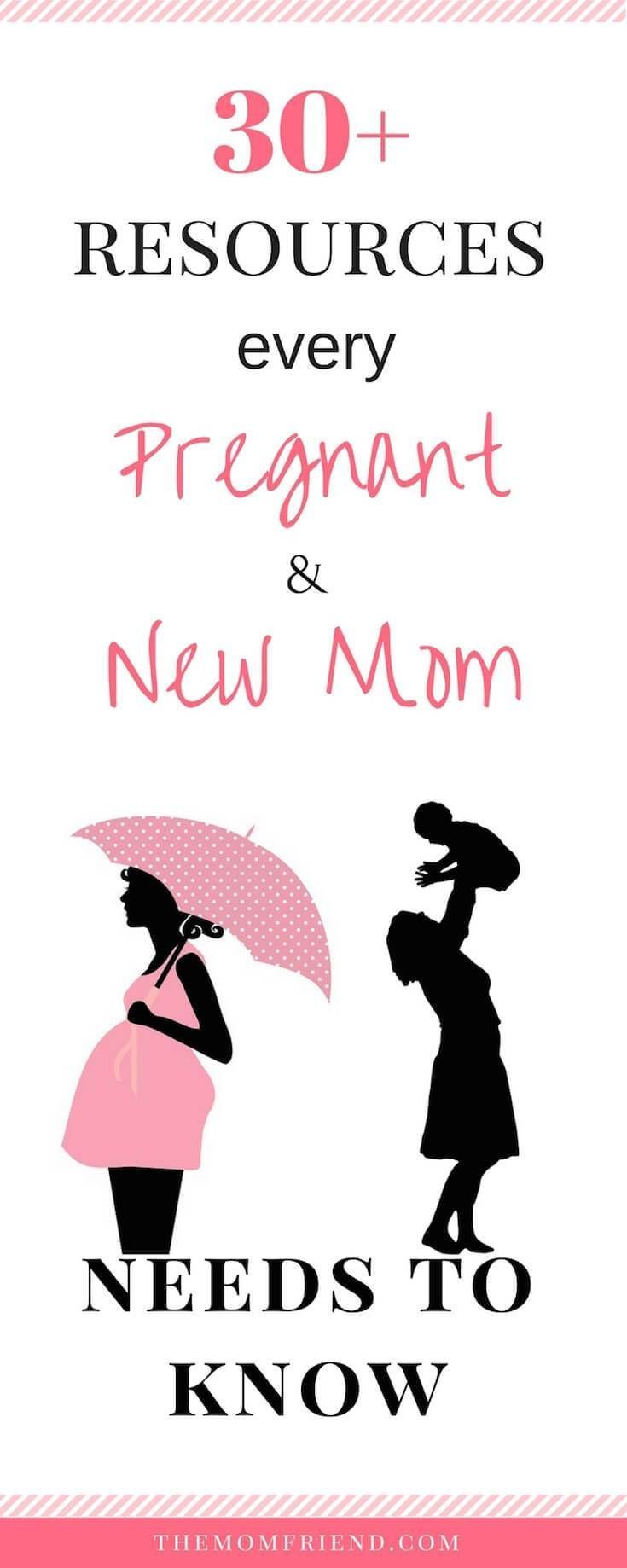 The best websites, blogs, FB pages & more for pregnancy & new moms. Get weekly pregnancy updates and create a baby registry, read baby gear guides, and get inspired by blogs about motherhood. pregnancy, new mom tips, motherhood, first time mom resources, baby gear, baby registry | http://Themomfriend.com