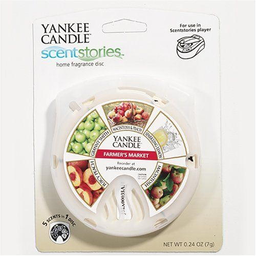 Farmer's Market Yankee Candle Scentstories Refill