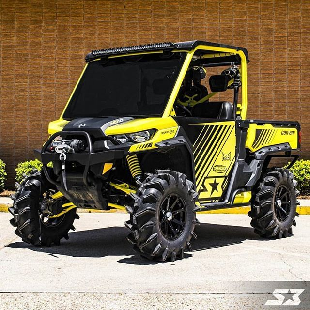 S3powersports Built A Monster Can Am Defender X On M12 Diesel Wheels Msawheels M12 Diesel Canam Can Am Defender Polaris Ranger