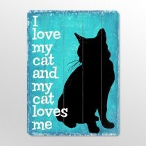 Wall Art, Catlady, Arteh Wall, Wood Signs, Cat Love, Cat Wooden, Crazy Cat Lady, Wooden Signs, Black Cat Quotes