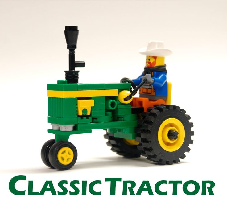 LEGO Ideas - Classic Tractor - John Deere