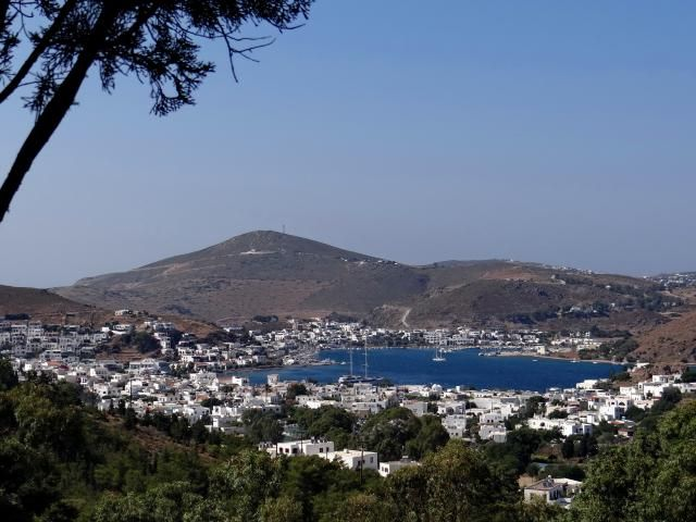 Photo tour of Patmos, a Greek island in the Aegean Sea that is most famous as the island where St. John the Theologian wrote the Book of Revelation
