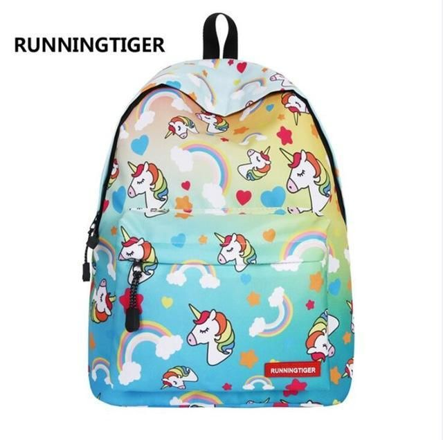 Sac /à dos licorne mignon pour sac d/école de filles Fashion Bookbag licorne rose pour les filles /étudiant Kid Daypack
